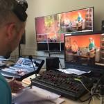 Action im Studio
