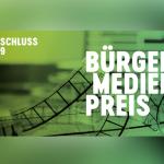 Jetzt mitmachen: Bürgermedienpreis 2019